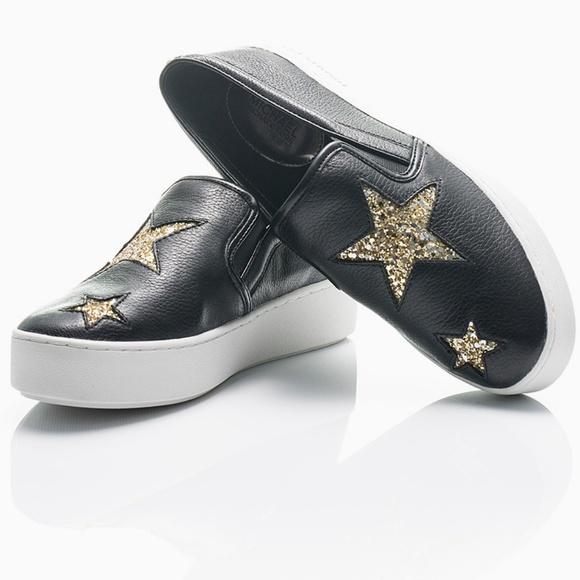 6b81f0d7e76d Michael Kors Pia Glitter Star Slip On Trainers. M_5b0222081dffda1e92bf5927
